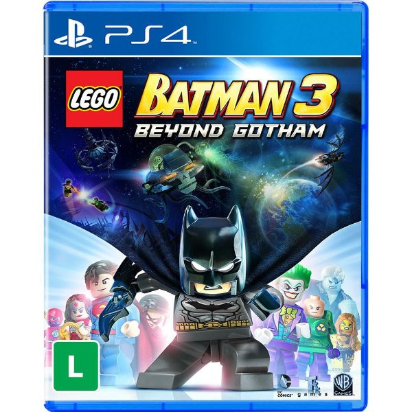 PLAYSTATION 4 JOGO LEGO BATMAN 3