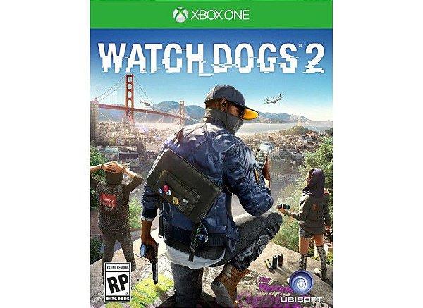 XBOX ONE JOGO WATCH DOGS 2