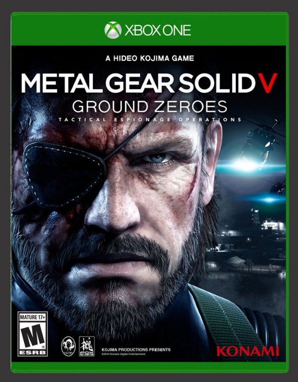 XBOX ONE JOGO METAL GEAR SOLID V