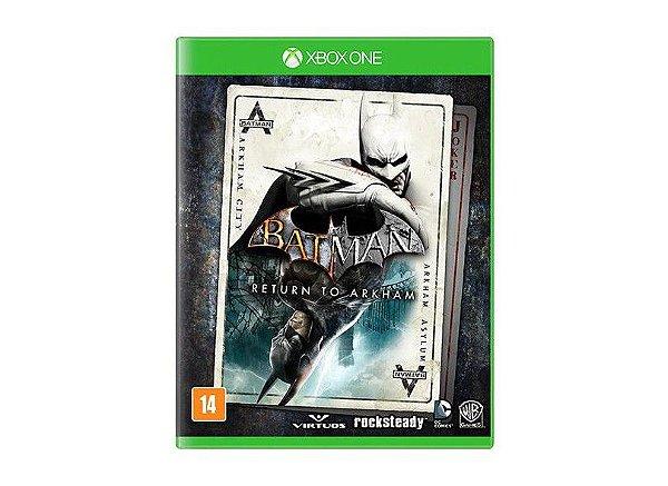 XBOX ONE JOGO BATMAN RETURN TO ARKHAM