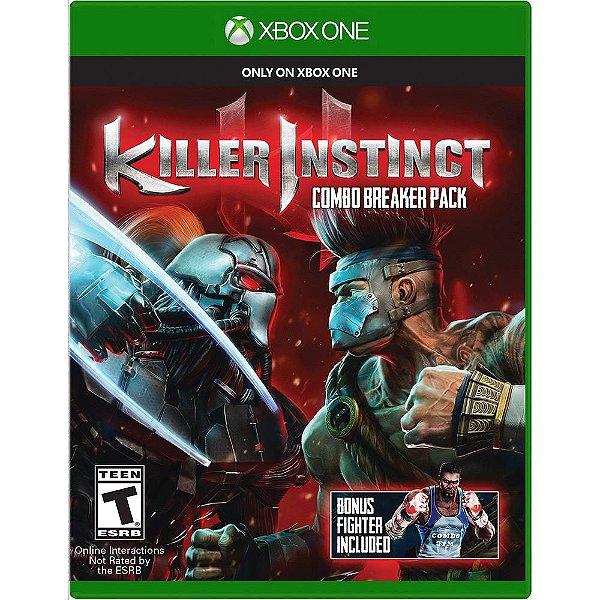 XBOX ONE JOGO KILLER INSTINCT
