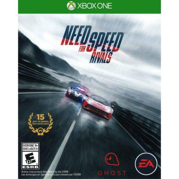 XBOX ONE JOGO NED FOR SPEED RIVALS