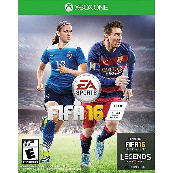 XBOX ONE JOGO FIFA 16