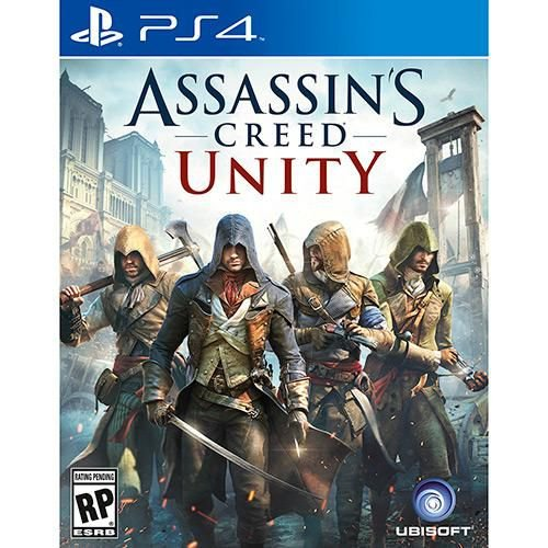 PLAYSTATION 4 JOGO ASSASSINS CREED UNITY