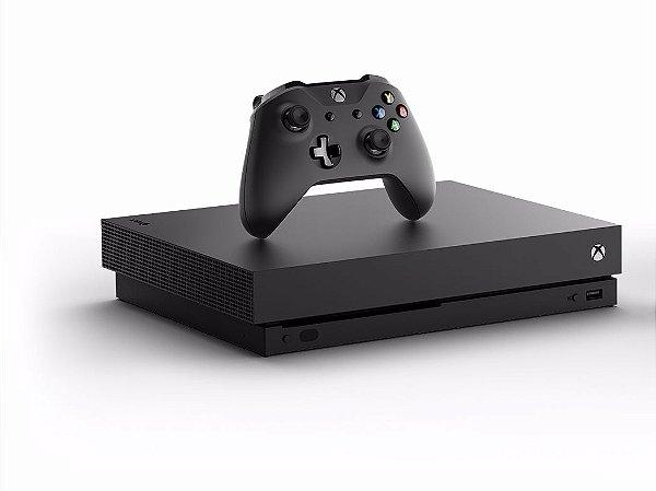 Xbox One X  1TERA  4k PRETO