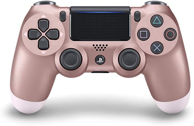 Controle PlayStation 4 rose gold