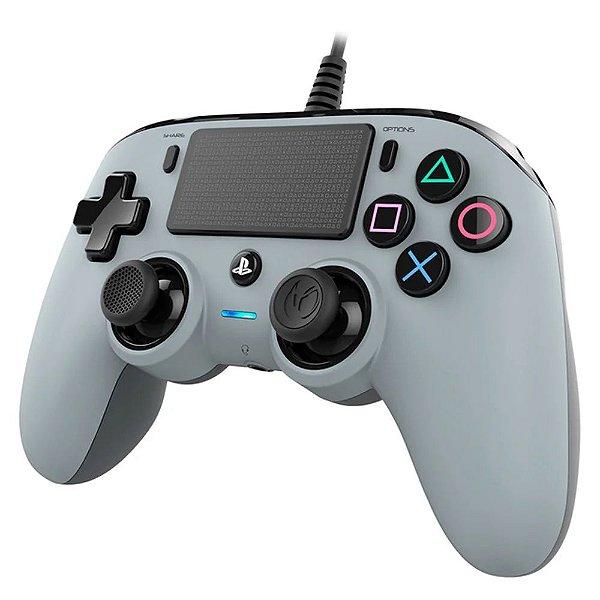 Controle Pro Nacon Wired Gray Para Ps4
