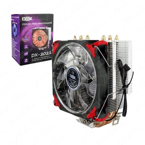 Cooler Processador Universal Intel/Amd 775 1150 1151 1155 - (DX-2021) S