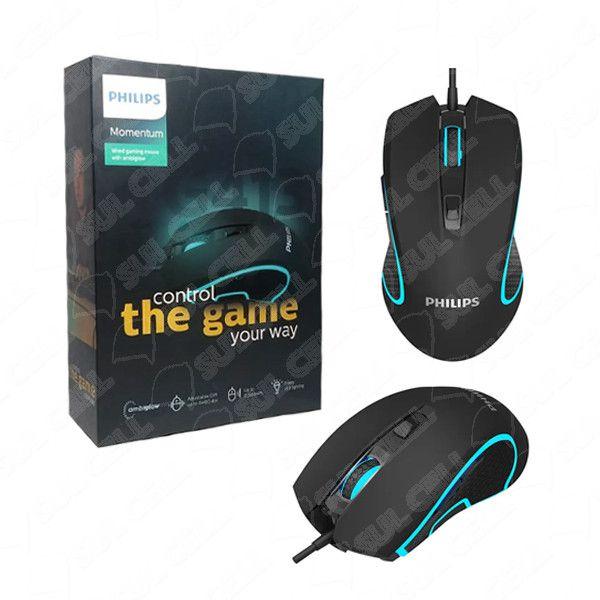 Mouse Gamer Usb Led Rgb Philips (SPK9413)-S