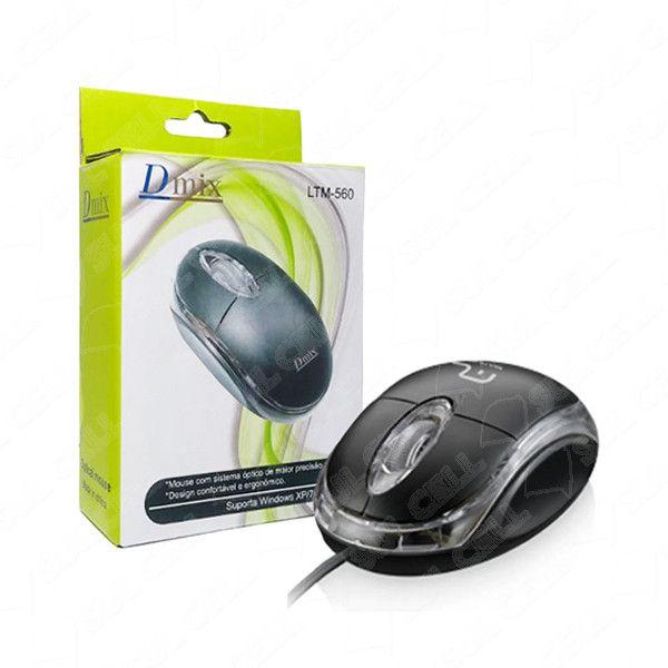 Mouse Optico Usb c/ Fio (LTM-560)
