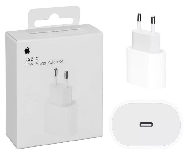 Fonte Carregador Apple Original 18w Usb-c Para iPhone/iPad