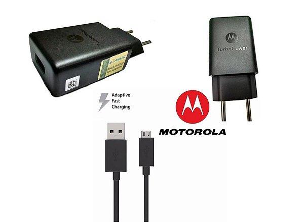 Carregador e Cabo V8 - Motorola