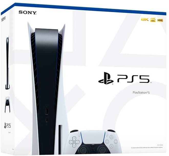 Playstation 5 825GB SSD / 8K / Bivolt - Branco (CFI-1014A)  Nacional Pronta entrega #playstation5