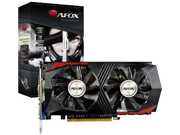 Placa De Vídeo Pci-E Nvidia GTX 750ti 2gb Gddr5 128b AF750TI-2048D5H5-V7 Afox