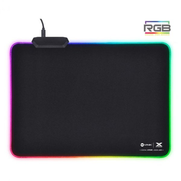 MOUSE PAD VX GAMING RGB - 250X350X3MM-FO