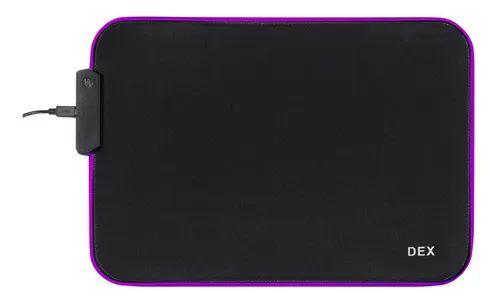 Mouse Pad Gamer c/ Borda Led RGB 25cm x 35cm (RY-2535)-FS