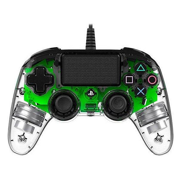Controle Pro Nacon Wired Illuminated Ps4 - Verde-FA