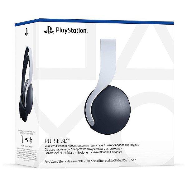 Headset Sony Pulse 3D Wireless Branco - PS5