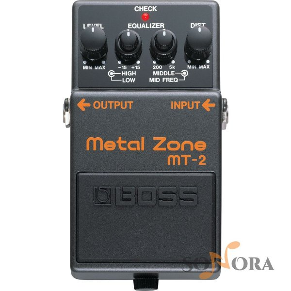 Pedal Boss Guitarra Distortion Metal Zone Mt 2