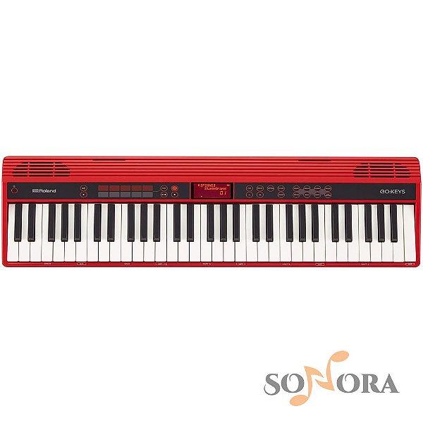 Teclado Roland Musical Go Keys Bluetooth Go61k