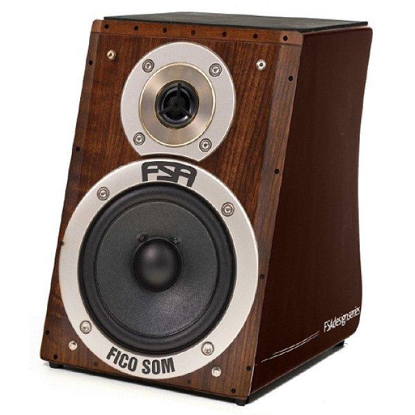 Cajon Elétrico FSA Design - Captação Dupla - Speaker