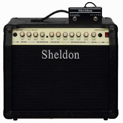 Amplificador para Guitarra Sheldon GT600RV - 60W - Preto