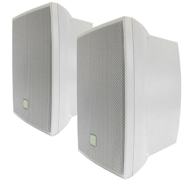 Caixa para Som Ambiente JBL C621B Passiva 100W Rms Branca (Par)