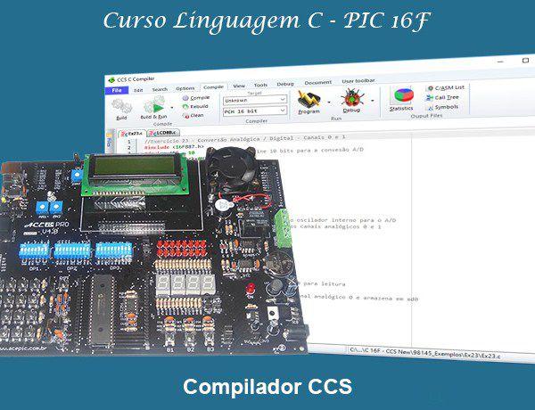 Curso Online Linguagem C para microcontroladores PIC - Família 16F (Módulo I)
