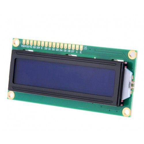 Display LCD 16 X 2 C/ Backlight - Fundo Azul