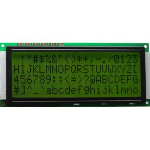 Display LCD 20X4 Fundo Verde e Backlight - AGM-2004D-201