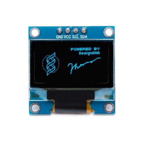 "Display OLED 0.96"" I2C Azul"