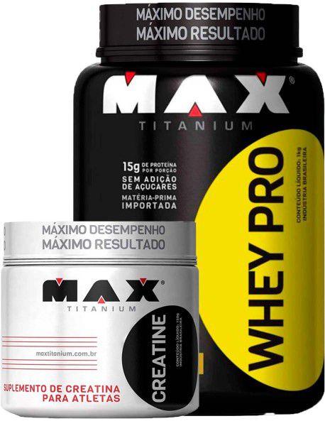 2b63658a9 Whey Protein Pro 1kg + Creatina 150g - Nova Suplementos - Preço ...