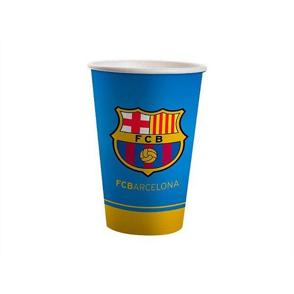 Copo de Papel Descartável Barcelona - 08 unidades