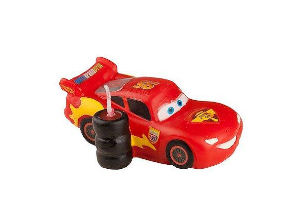 Vela de Aniversário 3D Carros