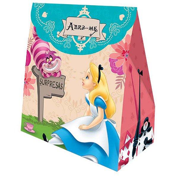 Caixa Surpresa - Alice no País das Maravilhas - 08 unidades