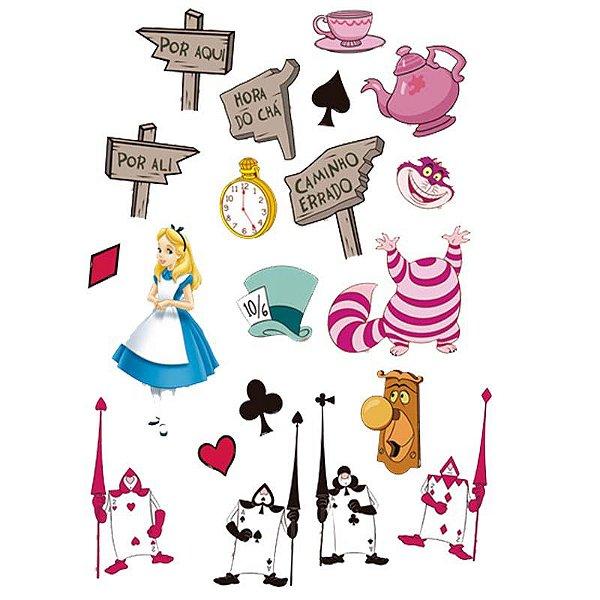 Mini Personagens - Alice no País das Maravilhas - 20 und