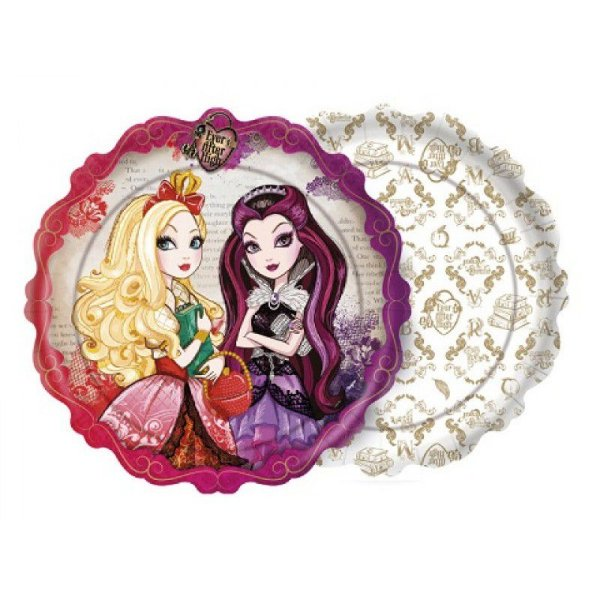 Kit Prato - Ever After High - 02 pacotes
