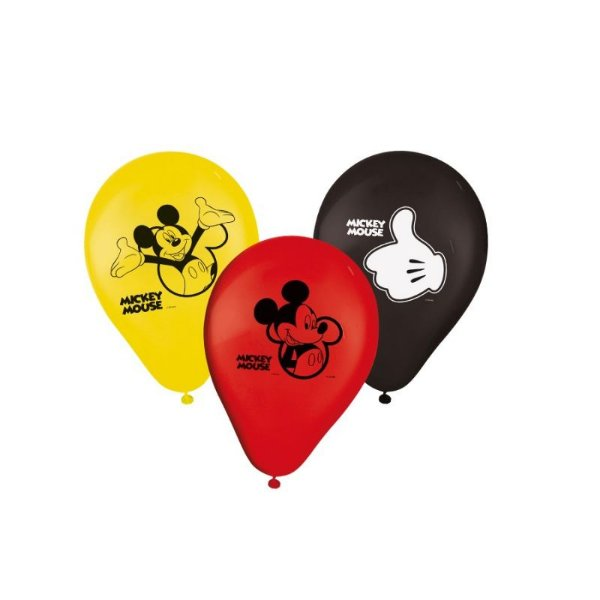 Balão Mickey Mouse -9 Polegadas - 25 unidades