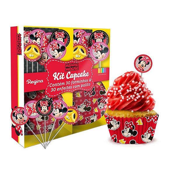 Saia para Cupcake Wrapper e Enfeite Minnie
