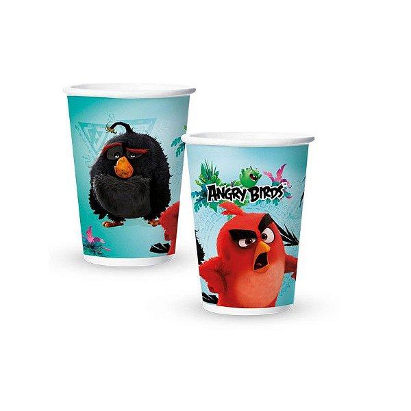 Copo de Papel Descartável Angry Birds