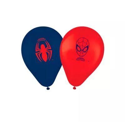 Balão Latex 9 Polegadas - Homem Aranha - 25 unidades