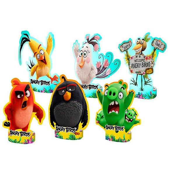 Centro de Mesa Cartonada Angry Birds