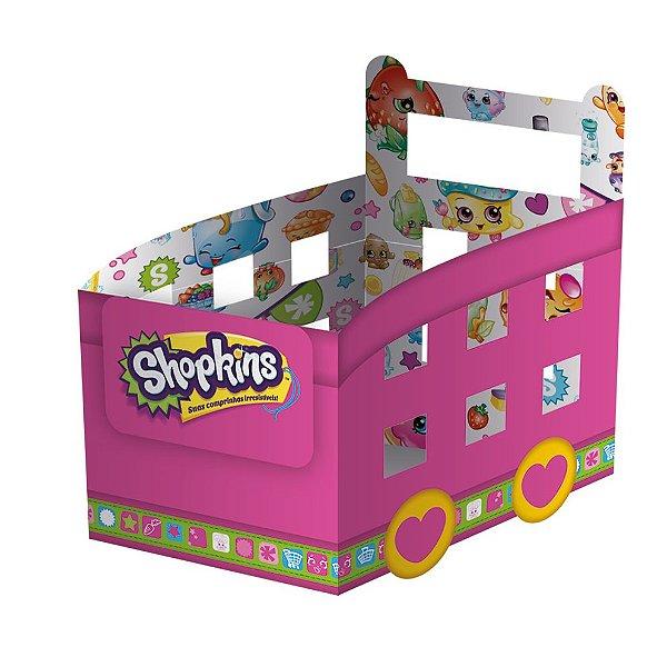 Cachepot Carrinho - Shopkins - 08 unidades