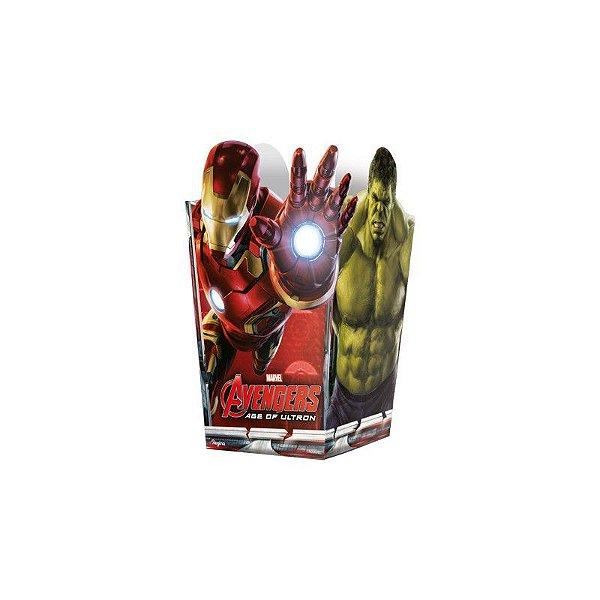 Mini Pipoqueira - Os Vingadores - 08 unidades