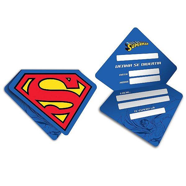Convite - Superman - 08 unidades