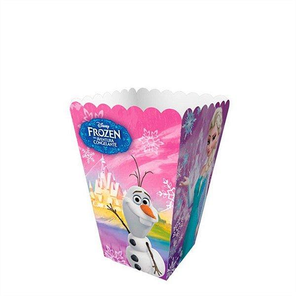 Mini Caixa para Pipoca - Frozen - 08 unidades
