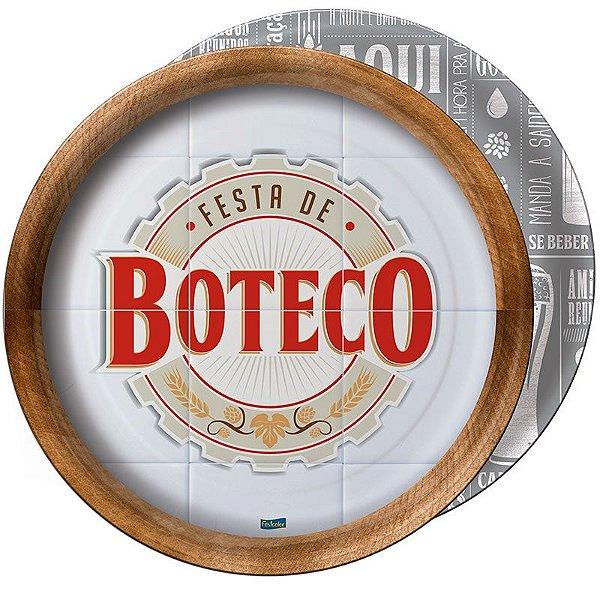 Prato de Papel - Festa de Boteco - 08 unidades