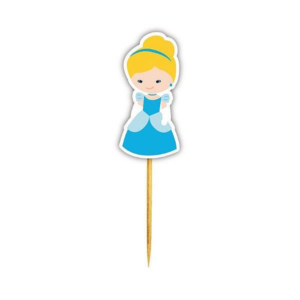 Enfeite Para Cupcake Princesa Cinderela