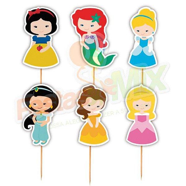 Enfeite Para Cupcake Princesas