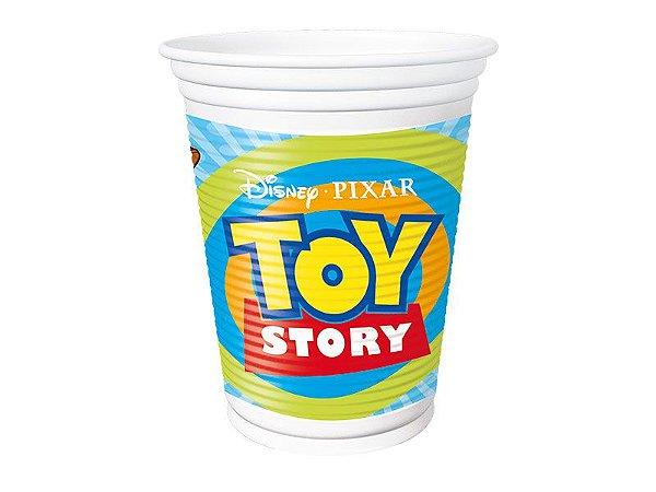 Copo de Plástico  200ml - Toy Story no Espaço - 08 unidades